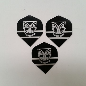 NRL Licensed DART FLIGHTS x 3 - New Zealand WARRIORS