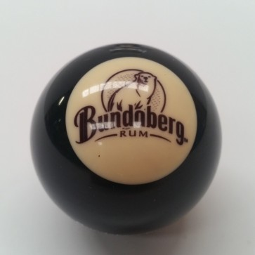"Official Licensed BLACK BALL 2"" - BUNDABERG RUM"