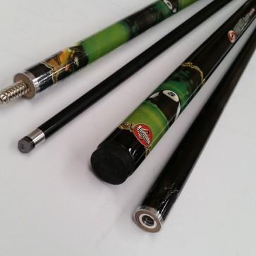"""""""Illusion"""" 2 Pce GRAPHITE Pool Snooker Billiards 57"""" CUE - Sink The Black"""