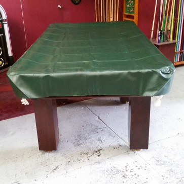 Eddie 9' Foot Heavy Duty Fitted Green Pool Table Cover