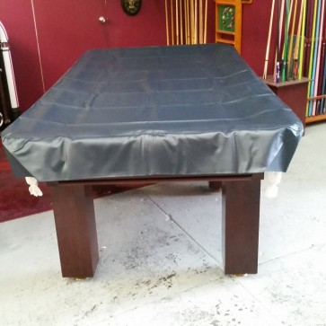 Eddie 9' Foot Heavy Duty Fitted Blue Pool Table Cover