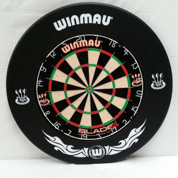 Winmau Dartboard SURROUND - Extreme BLACK
