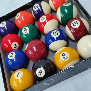 Standard KELLY POOL BALL Set 2 1/4""