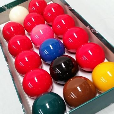 "Aramith 2"" (17 Balls) Standard Snooker Balls"