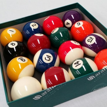 "Aramith KELLY POOL BALL Set 2 1/16"" - SUPER"