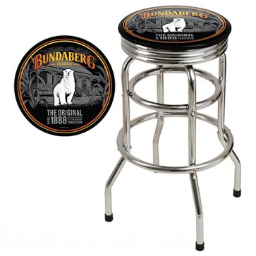Double Ring BAR STOOL - Bundaberg Rum