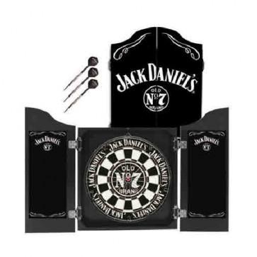 Official Licensed Jack Daniels - Dartboard and Cabinet Set Darts Dart