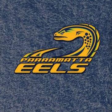 NRL Licensed Pool Snooker Billiards CLOTH 9 Foot - Parramatta EELS