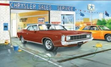 Australian Cars & Transport 1971 Chrysler Valiant 2 Door Tin Sign