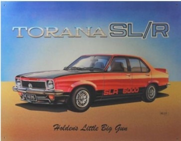 Australian Cars & Transport Holden Torana SLR 5000 Tin Sign
