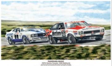 Australian Cars & Transport Panorama Magic 1978 Bathurst Tin Sign