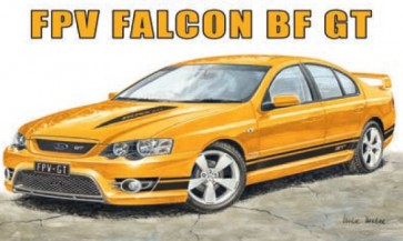 Australian Cars & Transport FPV Ford Falcon BF GT Tin Sign
