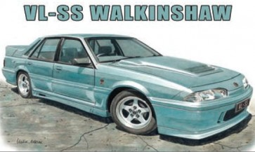 Australian Cars & Transport VL SS Walkinshaw Tin Sign