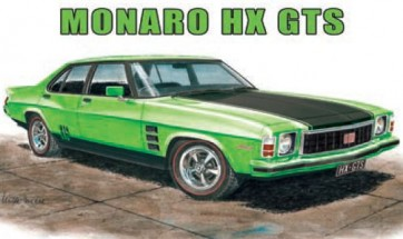 Australian Cars & Transport Monaro HX GTS Tin Sign