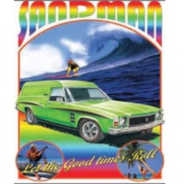 Australian Cars & Transport Holden Sandman HJ 1975 Tin Sign