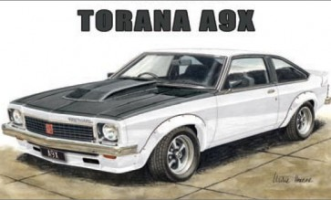 Australian Cars & Transport A9X Torana Tin Sign
