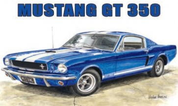 Australian Cars & Transport Ford Mustang 1965 GT 350 Tin Sign