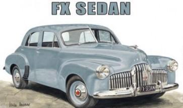 Australian Cars & Transport Holden FX Sedan Tin Sign