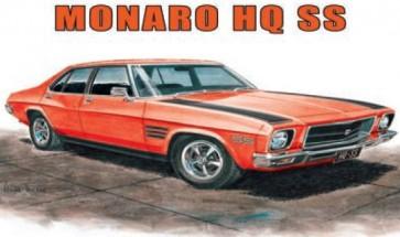 Australian Cars & Transport Holden Monaro HQ SS 4 door Tin Sign