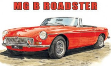 Australian Cars & Transport MG B Roadster Tin Sign