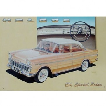 Australian Cars & Transport 1961 EK Holden Tin Sign