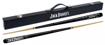 Official Licensed Jack Daniels Wooden Pool CUE and CASE