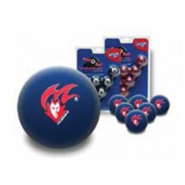 AFL Licensed POOL BALLS - 16 Ball Pack - Melbourne DEMONS Old Logo