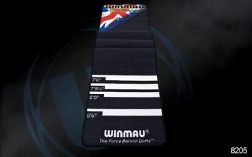 Winmau Soft Feel Dart Board MAT - Distance Markers