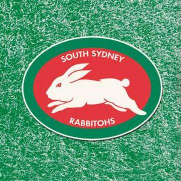 NRL Licensed Pool Snooker Billiards CLOTH 8 Foot - South Sydney RABBITOHS