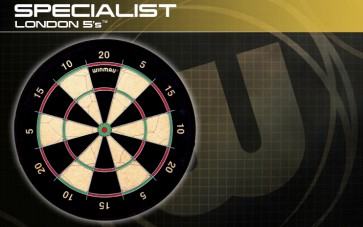 Winmau London 5's Bristle DARTBOARD