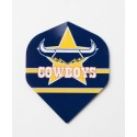 OFFICIAL NRL North Queensland Cowboys Dart Dart Flights X 3