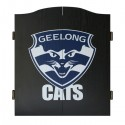 Official Licensed Afl Geelong Cats Dartboard Cabinet