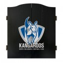 Official Licensed Afl North Melbourne Dartboard Cabinet