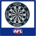 Official Licensed Afl Carlton Blues Dartboard