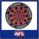 Official Licensed Afl Essendon Bombers Dartboard