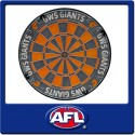 Official Licensed Afl Greater Western Sydney Dartboard