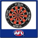 Official Licensed Afl St Kilda Saints Dartboard
