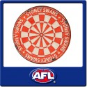 Official Licensed Afl Sydney Swans Dartboard