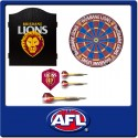 OFFICIAL LICENSED AFL BRISBANE LIONS DART PACK
