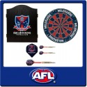 OFFICIAL LICENSED AFL MELBOURNE DEMONS DART PACK