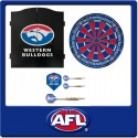 OFFICIAL LICENSED AFL WESTERN BULLDOGS DART PACK