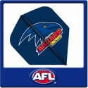 OFFICIAL AFL ADELAIDE CROWS Dart Dart Flights x 3