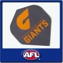 OFFICIAL AFL GREATER WESTERN SYDNEY Dart Dart Flights X 3