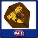 OFFICIAL AFL HAWTHORN Dart Dart Flights X 3
