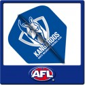 OFFICIAL AFL NORTH MELBOURNE Dart Dart Flights X 3
