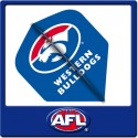 OFFICIAL AFL WESTERN BULLDOGS Dart Dart Flights X 3