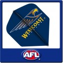 OFFICIAL AFL WEST COAST EAGLES Dart Dart Flights X 3