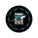 Official Licensed Afl Port Power Dartboard