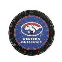 Official Licensed Afl Western Bulldogs Dartboard