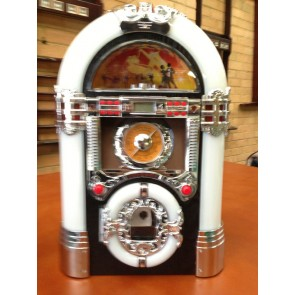 Jukebox Station w/ CD Player, USB, SD, Bluetooth and AM/FM Radio